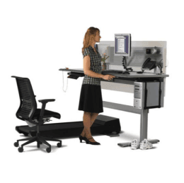 Steelcase Sit To Walkstation Treadmill Desk