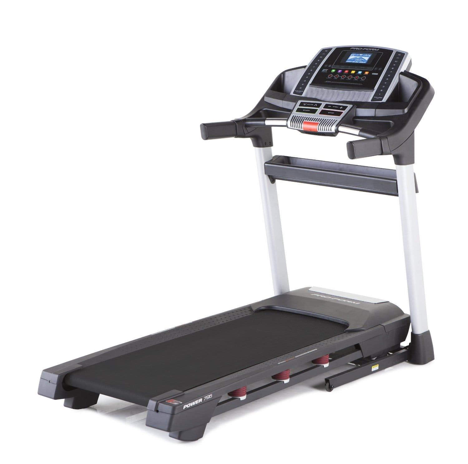 Landice L7 Treadmill Dimensions: ProForm Power 795 Review