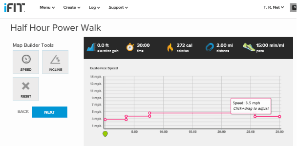 iFit Walk Overview