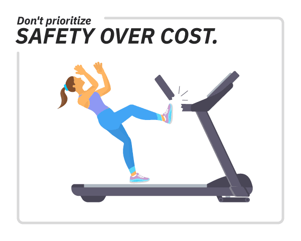 don't prioritize safety cover cost infographic image