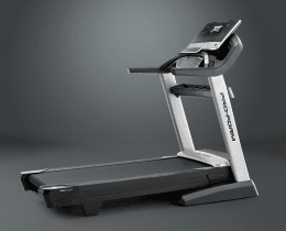 A side view angle of the ProForm Smart Pro 2000 treadmill