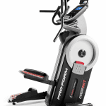 A side view angle of the ProForm HIIT Trainer Elliptical