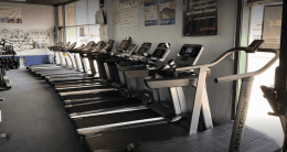 Treadmills at Winston Fitness Equipment Store